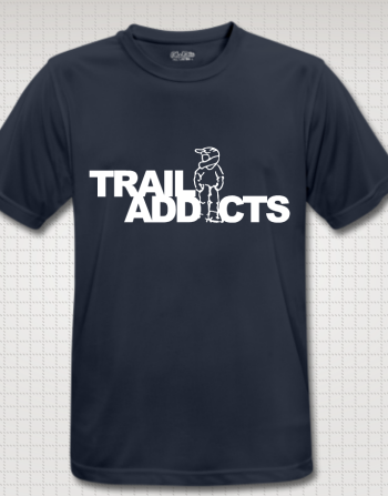 Trail-addicts Shirt dark blue