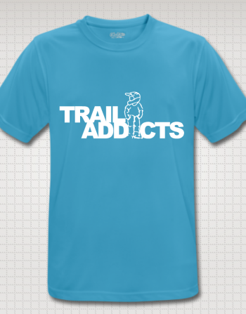 Trail-addicts shirt baby blue