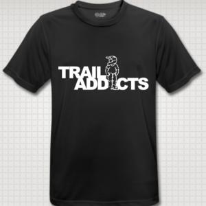 Trail-addicts shirt black