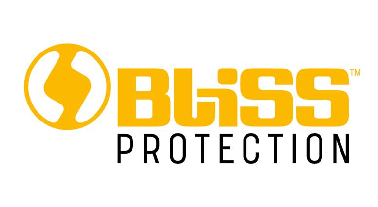 logo van bliss in geel