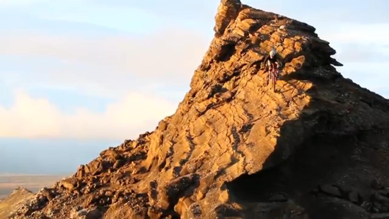 Jeff Kendall in IJsland