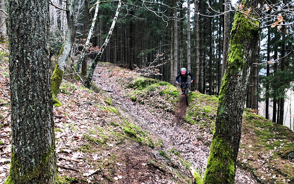 Enduro Trails bij Coo in België