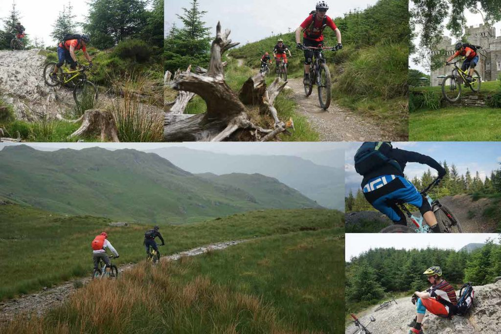 Trailcentre Whinlatter in Lake District