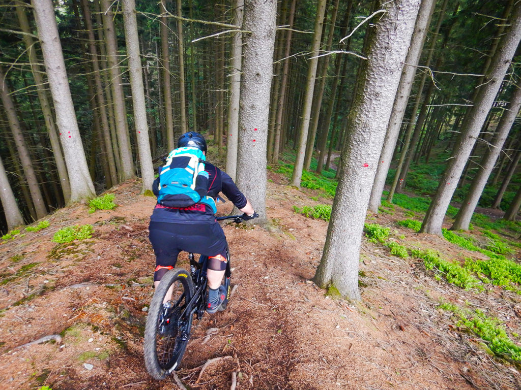 steile trails in Ardennen Reinhardstein
