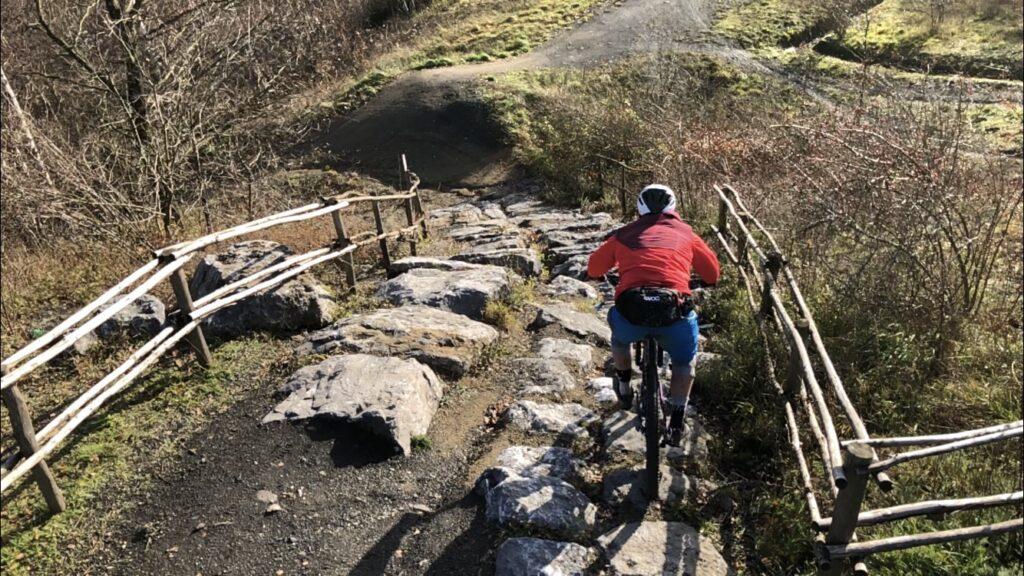 beringen be-mine rock garden rode route