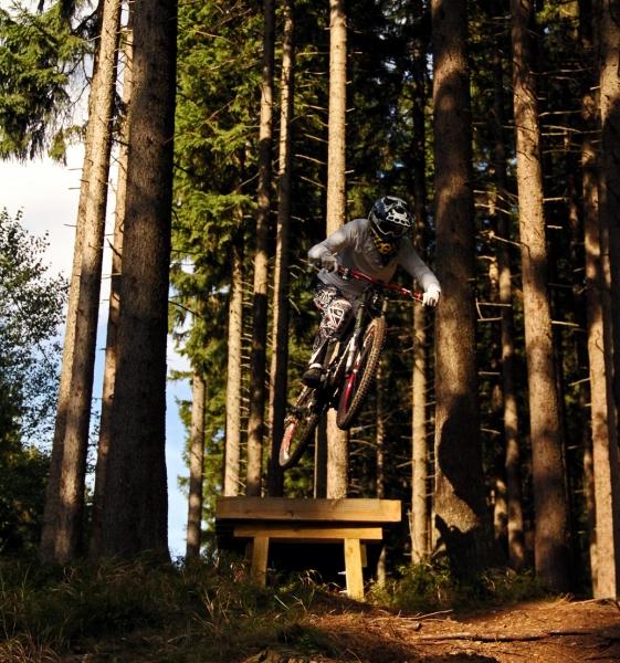 jump in bike park braunlage