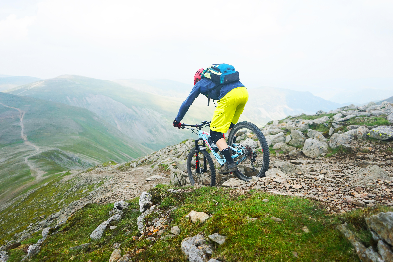 Bram op de trails in Lake District