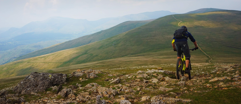 Lake District mountainbike
