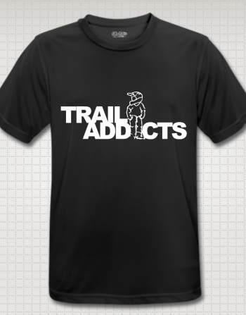 Trail-addicts shirt black