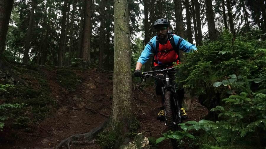 Trail rijden in Remouchamps