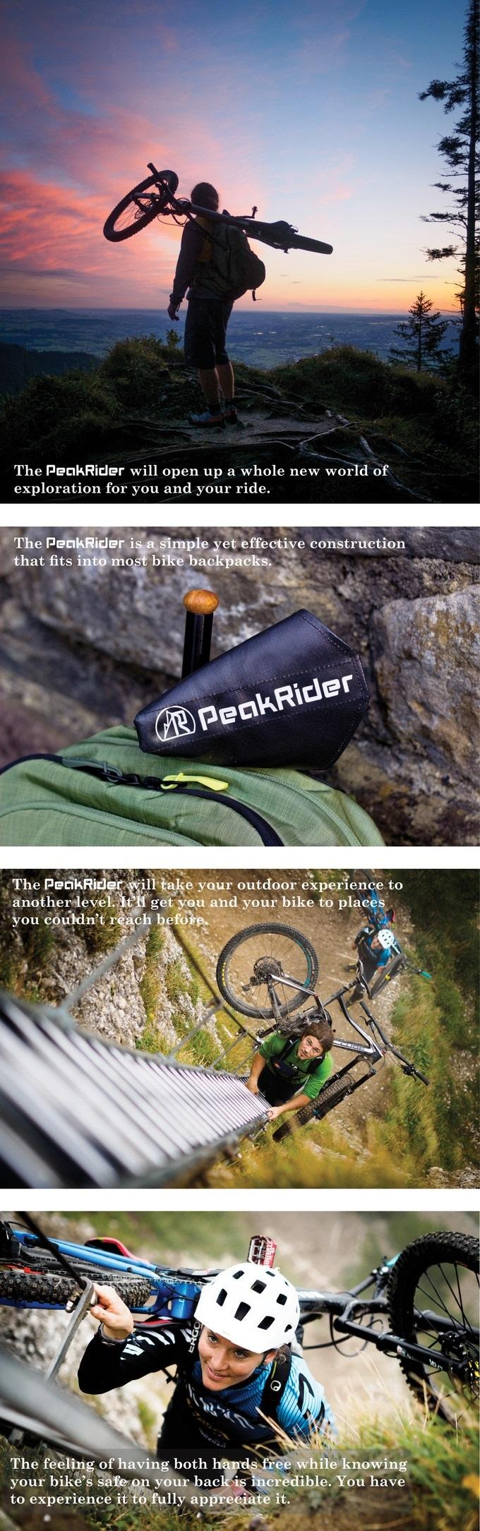 Peakrider project voorbeeld foto's