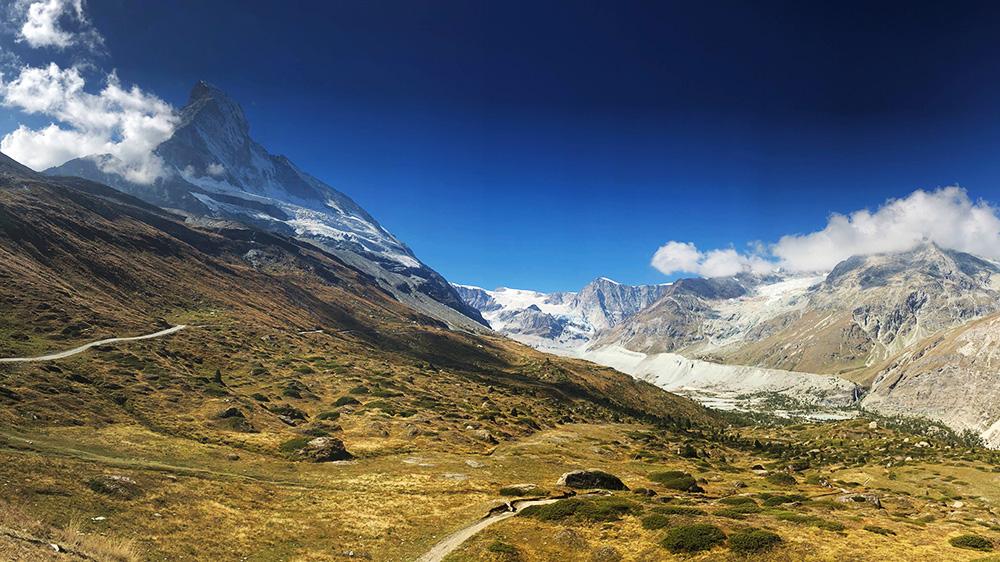 Bergen in Zermatt