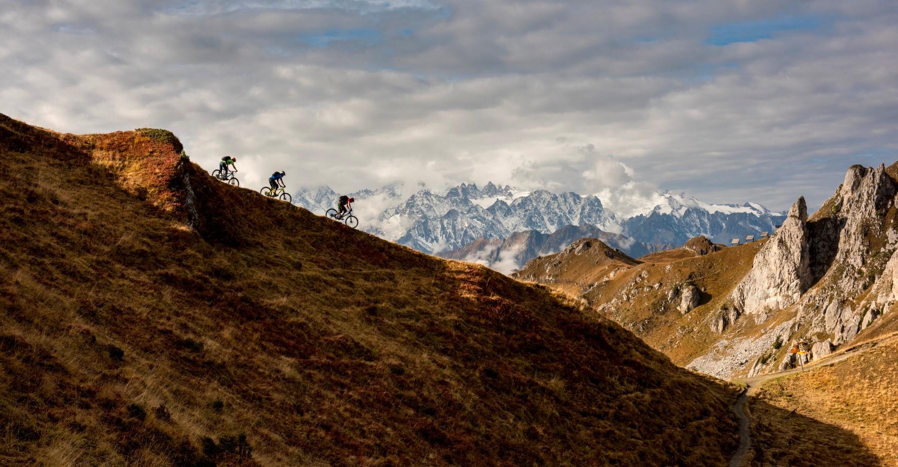 Verbier-mountain-biking