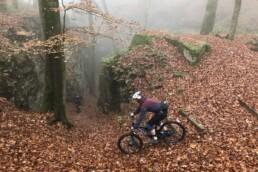 Rotsen en trails