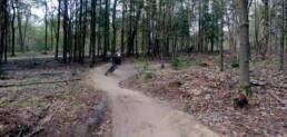 Kombochten op de mountainbike route in Nijmegen