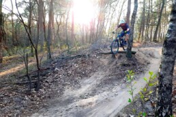 Mountainbike route ede drop