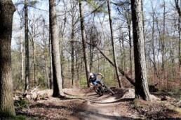 Kombochten in de mountainbike route van Ede