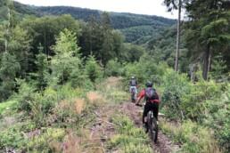 Een Ridge line in Solingen