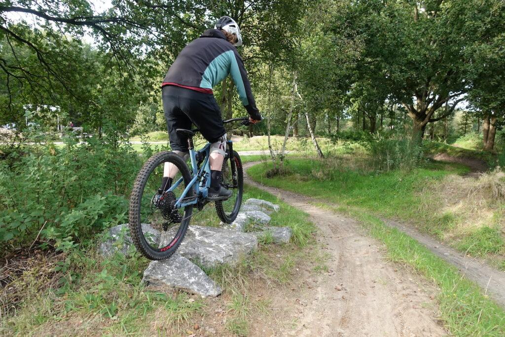 Rock garden van ATB bike park Beilen