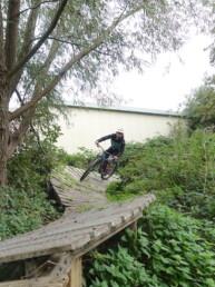 North Shore in bike park Spaarnwoude