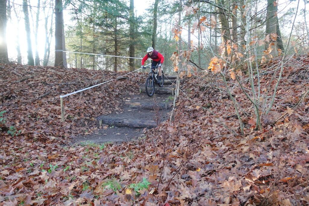 Trap afdaling Bike Park Apeldoorn
