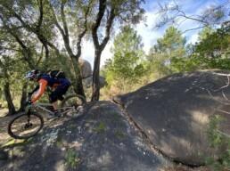 Girona Enduro Trail rotsen